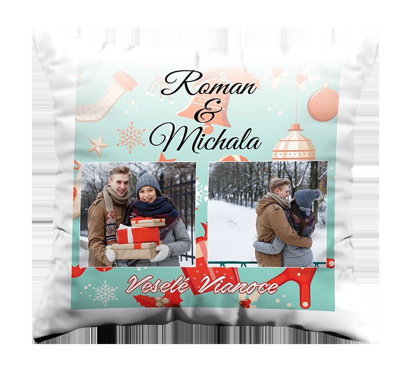 Vankúš Vianočný - Vankus Zima 10