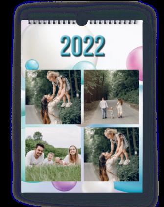Nástenný mesačný 2022