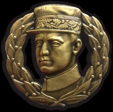 Pin Štefánik pozlatený 22mm