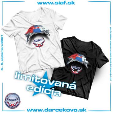 SIAF tričká 2021