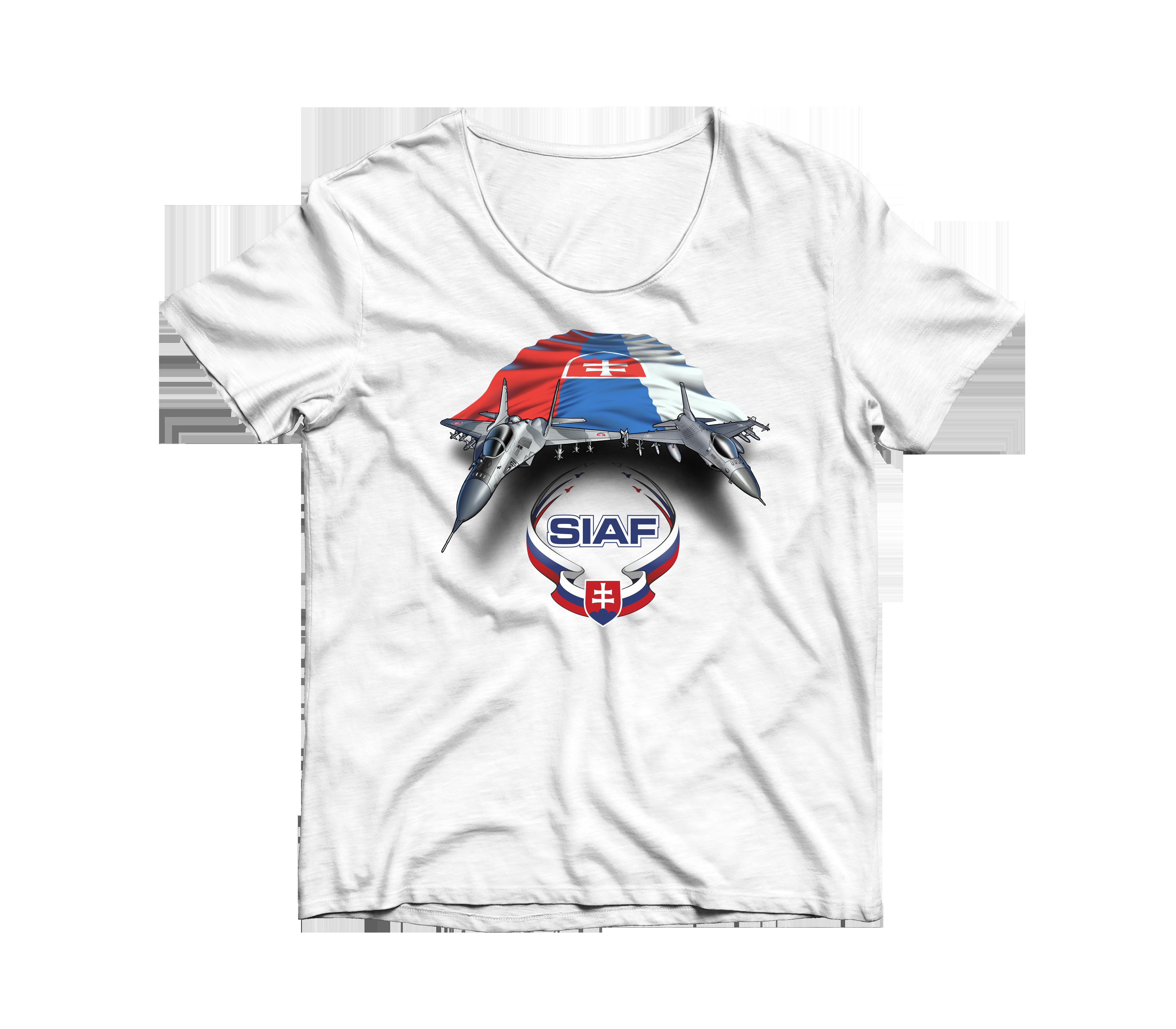 SIAF tričká 2021 - SIAF tričko 2021 Biele