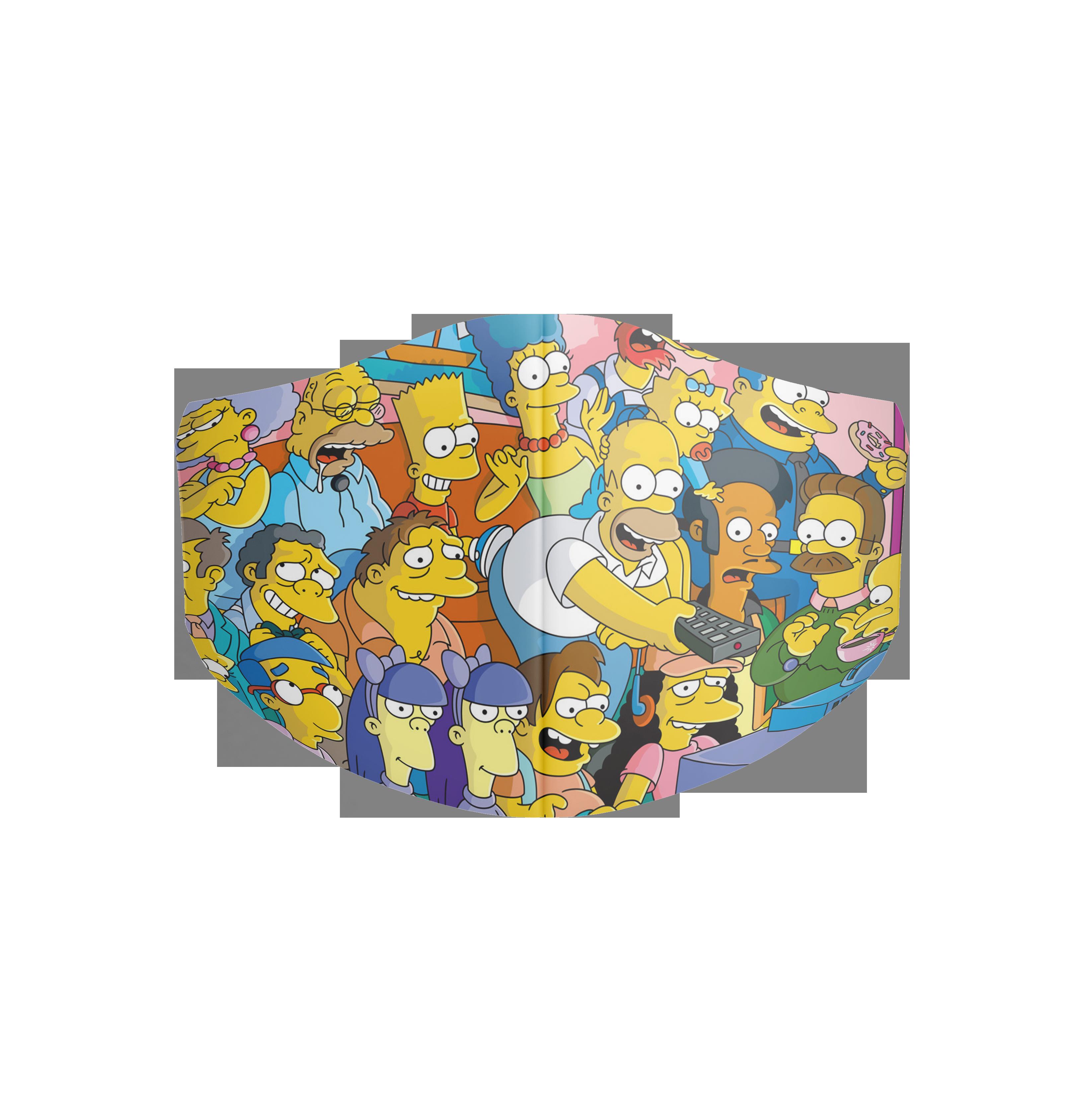 Rúška pre deti - Rúško Simsonovci